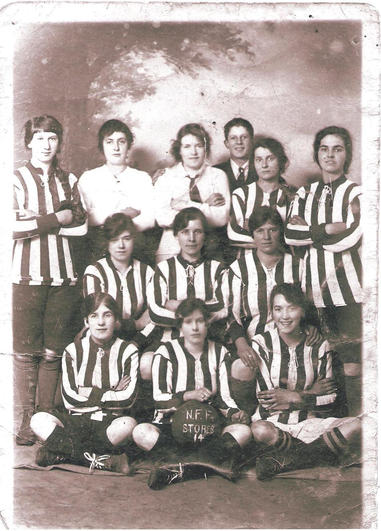 footballing munitionettes