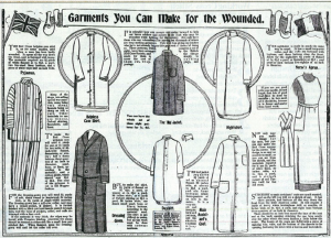 garments for wounded