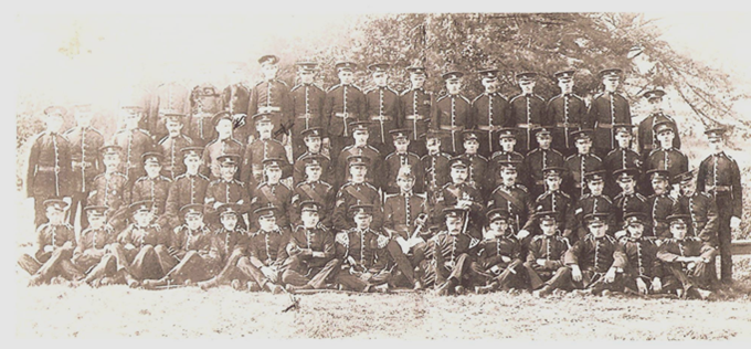 Kington Volunteers 1914
